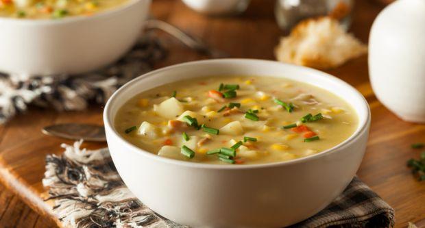 学习如何制作土豆和玉米汤(土豆和玉米汤食谱)